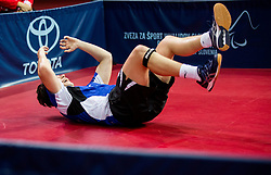Wilson Ross William of Great Britain celebrates after he won at final match during Day 4 of SPINT 2018 - World Para Table Tennis Championships, on October 20, 2018, in Arena Zlatorog, Celje, Slovenia. Photo by Vid Ponikvar / Sportida