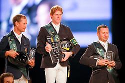 1. Ehning Marcus (GER) <br /> 2. Bengtsson Rolg Göran (SWE)<br /> 3. Lamaze Eric (CAN)<br /> Rolex IJRC Top 10 Final - Paris 2009<br /> Photo © Dirk Caremans