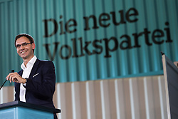 "01.07.2017, Design Center, Linz, AUT, ÖVP, 38. ordentlicher Bundesparteitag, mit Wahl von Bundesminister Kurz zum neuen Bundesparteiobmann, unter dem Motto ""Zeit für Neues - Zusammen neue Wege gehen"". im Bild Landeshauptmann Vorarlberg Markus Wallner (ÖVP) // during political convention of the Austrian People' s Party with election of Sebastian Kurz as the new party leader at Design Centre in Linz, Austria on 2017/07/01. EXPA Pictures © 2017, PhotoCredit: EXPA/ Michael Gruber"