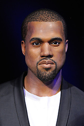 Kanye West's wax figures featured at Madame Tussauds in London, England on October 9, 2016. Photo by Aurore Marechal/ABACAPRESS.COM