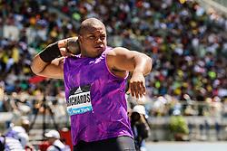 adidas Grand Prix Diamond League Track & Field: Mens' Shot Put, O'Dayne Richards, Jamaica