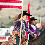 Darby Rodeo Queen at the Darby Broncs N Bulls event Sept 7th 2019.  Photo by Josh Homer/Burning Ember Photography.  Photo credit must be given on all uses.