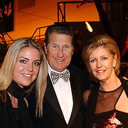 Miljonairfair 2004, Peter Post, partner en dochter