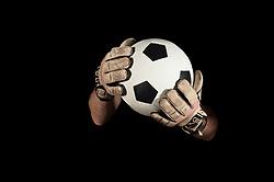 Dec. 05, 2012 - Goalkeeper holding football (Credit Image: © Image Source/ZUMAPRESS.com)