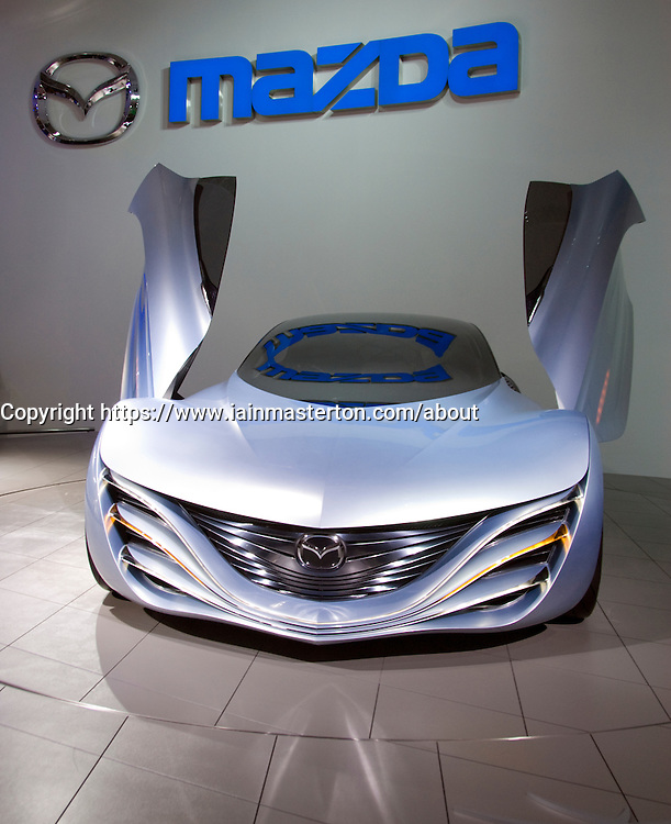Concept Mazda Taiki sports car on display at Tokyo Motor show 2007
