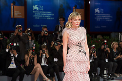 Kirsten Dunst arriving for the premiere of Woodshock as part of the 74th Venice International Film Festival (Mostra) in Venice, Italy, on September 4, 2017. Photo by Marco Piovanotto/ABACAPRESS.COM