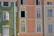 Window of a Venetican & Baroque house on Tartini Square. Piran , Slovenia Visit our PHOTO COLLECTIONS OF SLOVANIAN  HISTOIC PLACES for more photos to download or buy as wall art prints https://funkystock.photoshelter.com/gallery-collection/Pictures-Images-of-Slovenia-Photos-of-Slovenian-Historic-Landmark-Sites/C0000_BlKhcYWnT4Sites/C0000qxA2zGFjd_k