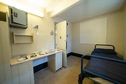 View of prisoner cell at Peterhead Prison Museum in Peterhead, Aberdeenshire, Scotland, UK