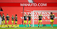 Football - 2019 / 2020 Premier League - Manchester United vs Southampton<br /> <br /> Stuart Armstrong of Southampton celebrates at Old Trafford<br /> <br /> COLORSPORT/LYNNE CAMERON