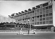 Architecture - CIE Bus Station at Store St, Dublin. Interior and Exterior.03/07/1953. <br />