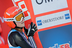 30.01.2016, Normal Hill Indiviual, Oberstdorf, GER, FIS Weltcup Ski Sprung Ladis, Bewerb, im Bild Anna Rupprecht (GER) // Anna Rupprecht of Germany during his Competition Jump of Four Hills Tournament of FIS Ski Jumping World Cup Ladis at the Normal Hill Indiviual, Oberstdorf, Germany on 2016/01/30. EXPA Pictures © 2016, PhotoCredit: EXPA/ Peter Rinderer