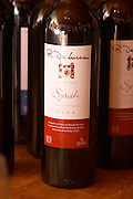 A bottle of R de Lucca Syrah Vino de El Colorado 2004 Bodega De Lucca Winery, El Colorado, Progreso, Uruguay, South America