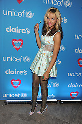 JOY VIELI at Wonderful Winter Wonderland a party to celebrate the launch of Claire's partnership with UNICEF held at 33 Portland Place, London on 14th March 2012.