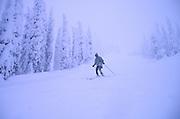 Skiing, Big Mountain, Montana<br />