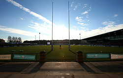 A general view of Castle Park, home of Doncaster Knights - Mandatory by-line: Robbie Stephenson/JMP - 02/12/2017 - RUGBY - Castle Park - Doncaster, England - Doncaster Knights v Bristol Rugby - Greene King IPA Championship
