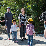Afternoon, Sunday 13 September 2015. Aysha walks on the Idomeni train station towards the border. A UNHCR officer approach hers and tells her that what she is about to do (cross the border) is illegal. Aysha is confused.