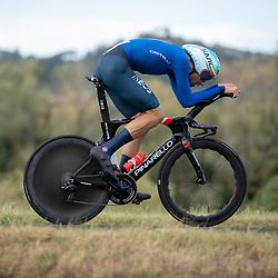 25-09-2020: wielrennen: WK tijdrit mannen: Imola<br /> Fillipo Ganna