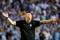 August 1, 2018 - MalmÅ, Sweden - 180801 Assistant coach Olof Persson of MalmÅ¡ FF after the UEFA Champions League qualifying match between MalmÅ¡ FF and Cluj on August 1, 2018 in MalmÅ¡..Photo: Ludvig Thunman / BILDBYRN / kod LT / 35511 (Credit Image: © Ludvig Thunman/Bildbyran via ZUMA Press)