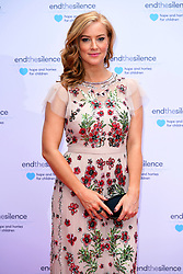 Sarah-Jane Mee attending the End the Silence Charity Fundraiser at Abbey Road Studios, London.