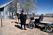 = Mexican menonites A priest.  Ciudad Ghautemoc  Mexico    +