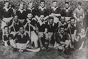 Cork All-Ireland Hurling Champions 1944. Back Row: J Quirke, C Murphy, A Lotty, W Murphy, J Kelly, T Mulcahy, P O'Donovan, B Thornhill, J Barry (trainer). Front Row: J Young, J Lynch, S Condon, J Morrison, C Cottrell, C Ring, D J Buckley.