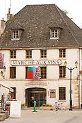 the wine market marche aux vins beaune cote de beaune burgundy france