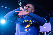 WASHINGTON, DC - December 3rd, 2015 - Rapper Vince Staples performs at U Street Music Hall in Washington, D.C. His debut album, Summertime '06, was released earlier this year to critical acclaim. (Photo by Kyle Gustafson / For The Washington Post)