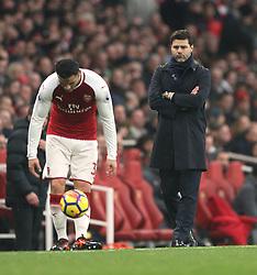 18 November 2017 London : Premier League Football : Arsenal v Tottenham Hotspur - Tottenham manager Mauricio Pochettino.<br /> (photo by Mark Leech)