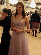 Cathy Doune. the Royal Caledonian Ball. 2001. Grosvenor house. London. 3 May 2001. © Copyright Photograph by Dafydd Jones 66 Stockwell Park Rd. London SW9 0DA Tel 020 7733 0108 www.dafjones.com