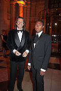 PIERRE LAGRANGE; ROUBI L'ROUBI, Hollywood Costume gala dinner, V and A. London. 16 October 2012
