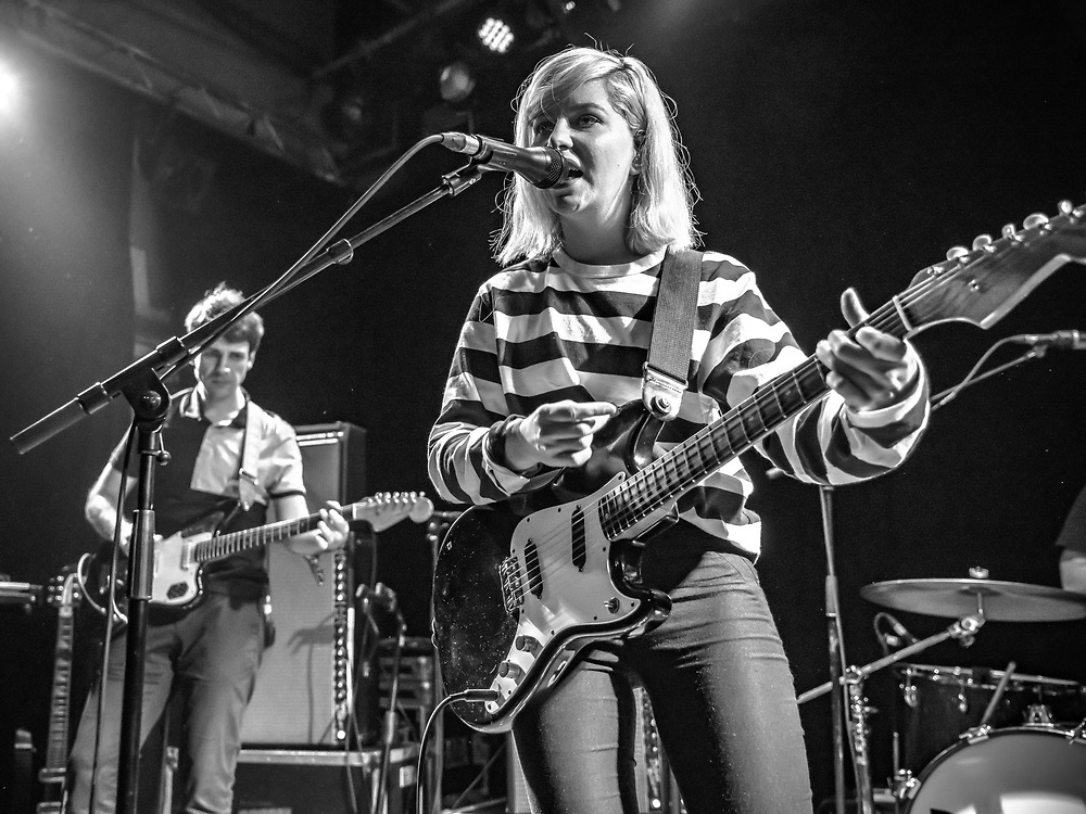 Molly Rankin of Canadian indie-pop band Alvvays at Gebäude 9 in Cologne