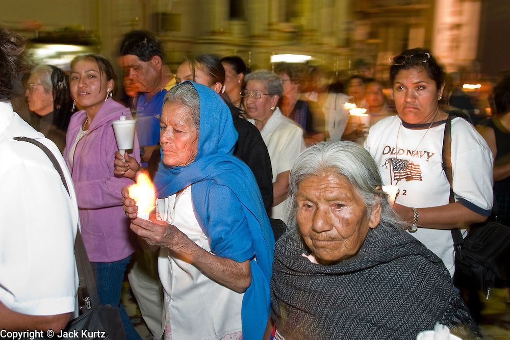 An Easter week procession in San Miguel de Allende, Mexico. PHOTO BY JACK KURTZ