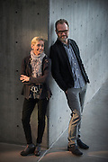 Nicole Paiement and Joby Talbot at Winspear Opera House on January 26, 2015, Dallas, Texas