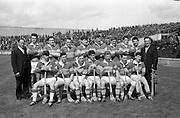 12/05/1968<br /> 05/12/1968<br /> 12 May 1968<br /> National Hurling League Home Final: Tipperary v Kilkenny at Croke Park, Dublin.<br /> The Tipperary team (winners).<br /> Back (l to r): Ossie Bennett, John O'Donoghue, Noel O'Gorman, Liam Devanney, Mick Roche, Seán McLoughlin, Mick Burns, John Costigan, Michael 'Babs' Keating, Gerry Doyle.  Front: PJ Ryan, Len Gaynor, Donie Nealon, Jimmy Ryan, John Flanagan, Jimmy Doyle, John Gleeson.