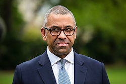 © Licensed to London News Pictures. 29/05/2019. London, UK. Brexit Minister James Cleverly, who is running to be the Leader of the Conservative Party and the next Prime Minister, in Westminster. Photo credit: Rob Pinney/LNP