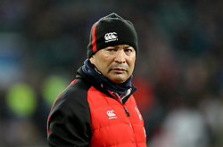 England coach Eddie Jones during the NatWest 6 Nations match at Twickenham Stadium, London. PRESS ASSOCIATION Photo. Picture date: Saturday February 10, 2018. See PA story RUGBYU England. Photo credit should read: Adam Davy/PA Wire. RESTRICTIONS: Editorial use only, No commercial use without prior permission.
