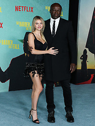 Model Leni Olumi Klum and singer-songwriter Seal (Henry Olusegun Adeola Samuel) arrive at the Los Angeles Premiere Of Netflix's 'The Harder They Fall' held at the Shrine Auditorium and Expo Hall on October 13, 2021 in Los Angeles, California, United States. Photo by Xavier Collin/Image Press Agency/ABACAPRESS.COM