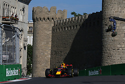 June 23, 2017 - Baku, Azerbaijan - Motorsports: FIA Formula One World Championship 2017, Grand Prix of Europe, .#33 Max Verstappen (NLD, Red Bull Racing) (Credit Image: © Hoch Zwei via ZUMA Wire)
