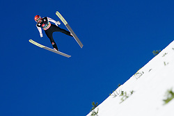 March 23, 2019 - Planica, Slovenia - Markus Eisenbichler of Germany in action during the team competition at Planica FIS Ski Jumping World Cup finals  on March 23, 2019 in Planica, Slovenia. (Credit Image: © Rok Rakun/Pacific Press via ZUMA Wire)