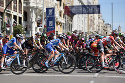 Eugenie Duval at Madrid Challenge by la Vuelta 2017 - a 87 km road race on September 10, 2017, in Madrid, Spain. (Photo by Sean Robinson/Velofocus.com)