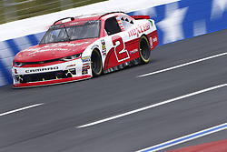 September 27, 2018 - Concord, North Carolina, United States of America - Matt Tifft (2) races down the back straightaway during practice the Drive for the Cure 200 at Charlotte Motor Speedway in Concord, North Carolina. (Credit Image: © Chris Owens Asp Inc/ASP via ZUMA Wire)