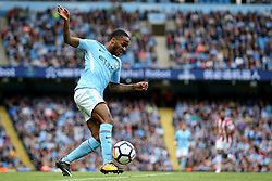 Raheem Sterling of Manchester City - Mandatory by-line: Matt McNulty/JMP - 14/10/2017 - FOOTBALL - Etihad Stadium - Manchester, England - Manchester City v Stoke City - Premier League