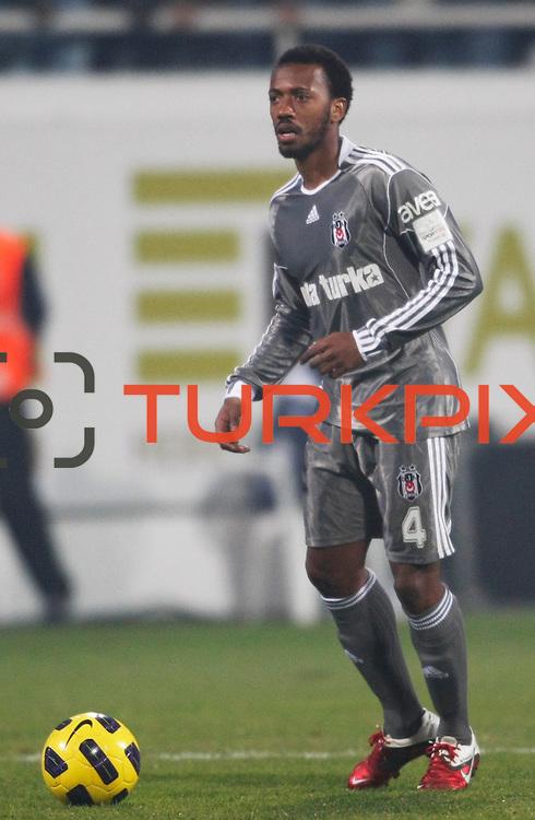 Besiktas's Manuel FERNANDES during their Turkish superleague soccer match Besiktas between Bucaspor at BJK Inonu Stadium in Istanbul Turkey on Friday, 21 January 2011. Photo by TURKPIX