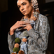 the Indonesian Fashion Showcase - Jera at Fashion Scout London Fashion Week AW19 on 16 Feb 2019, at Freemasons' Hall, London, UK.