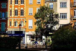 Street scene in the Square du Cardinal Jules Geraud Saliège, Toulouse, France<br /> <br /> (c) Andrew Wilson | Edinburgh Elite media