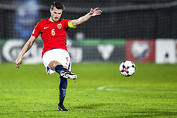 October 5, 2017 - San Marino, SAN MARINO - 171005 HÅ'vard Nordtveit of Norway during the FIFA World Cup Qualifier match between San Marino and Norway on October 5, 2017 in San Marino. .Photo: Fredrik Varfjell / BILDBYRN / kod FV / 150027 (Credit Image: © Fredrik Varfjell/Bildbyran via ZUMA Wire)
