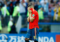 Koke (Spain) disappointment after the missed penalty<br /> Moscow 01-07-2018 Football FIFA World Cup Russia  2018 <br /> Spain - Russia / Spagna - Russia <br /> Foto Matteo Ciambelli/Insidefoto