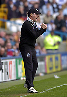 Photo: Olly Greenwood.<br />Queens Park Rangers v West Bromwich Albion. Coca Cola Championship. 31/03/2007. QPR manager John Gregory
