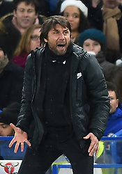 December 16, 2017 - London, England, United Kingdom - Chelsea Manager Antonio Conte during the Premier League match between Chelsea and Southampton at Stamford Bridge, London, England on 16 Dec 2016. (Credit Image: © Kieran Galvin/NurPhoto via ZUMA Press)