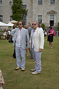 Marc Newson; Jonathan Ive, The Cartier Style et Luxe Concours lunch at the Goodwood Festival of Speed. July 13, 2008  *** Local Caption *** -DO NOT ARCHIVE-© Copyright Photograph by Dafydd Jones. 248 Clapham Rd. London SW9 0PZ. Tel 0207 820 0771. www.dafjones.com.